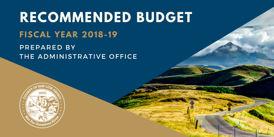 The budget hearing for the FY 2018-19 Recommended Budget is scheduled for June 11-13.