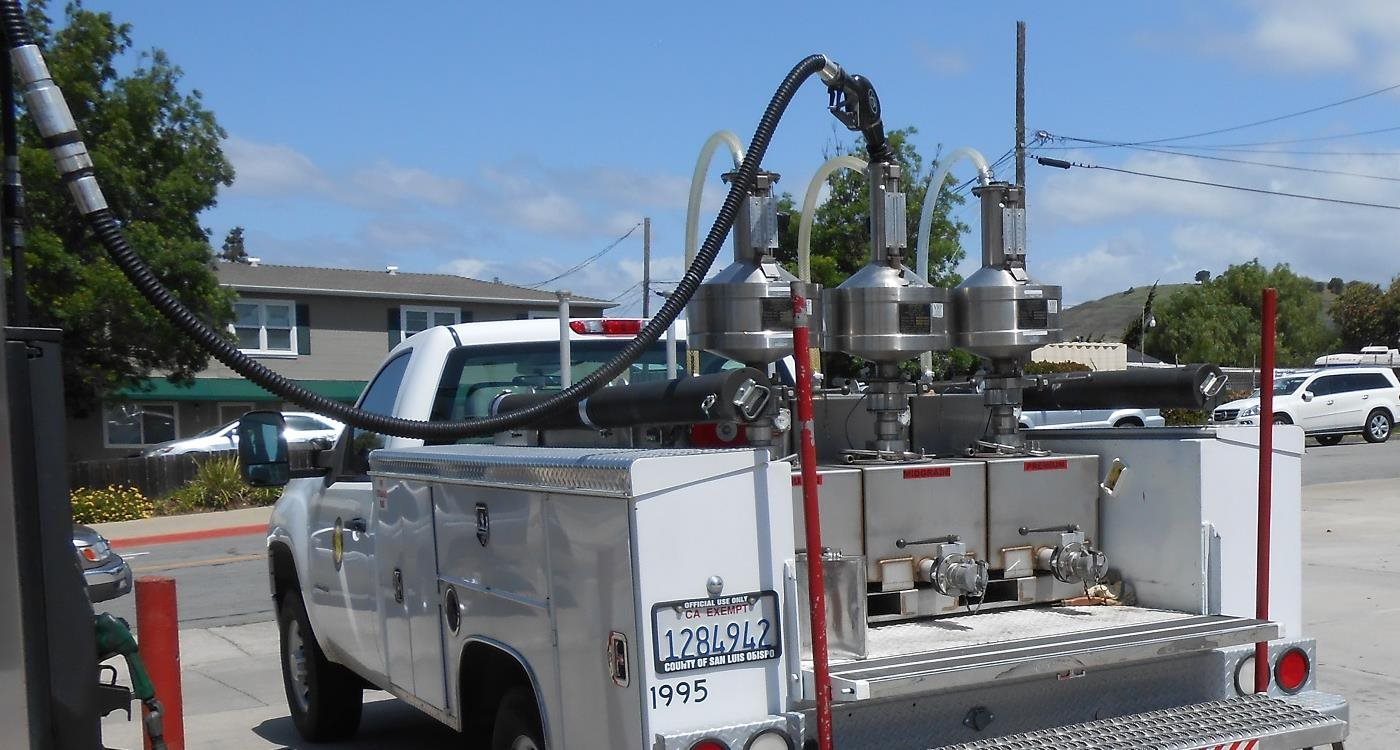Retail Motor Fuel Testing Truck at a Gas Pump Click to view article, National Weights and Measures Week - March 1-7th, 2020