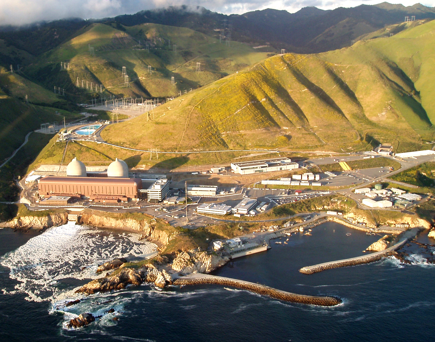 Diablo Canyon Overhead Shot